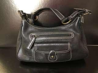 Roberta di Camerino full leather bag