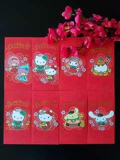 🌹BN Limited Edition Authentic SANRIO CHARACTERS Changi's Mystical Garden Red pkt Ang pow