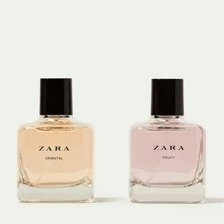 Parfum Zara Oriental + Fruity