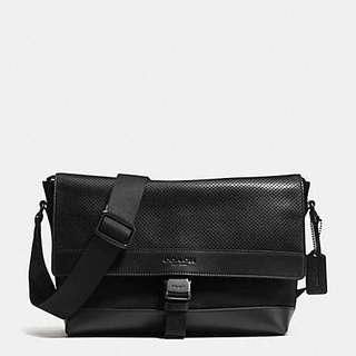 044498de3959 coach men s nylon messenger bag