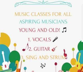 MUSIC CLASS FOR ALL AGES