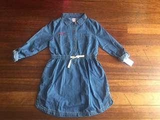 New with tag Carter's Denim Dress