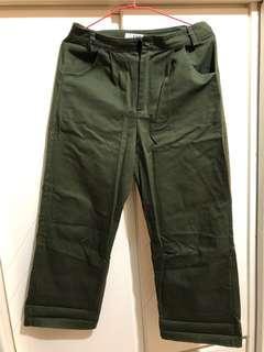 🚚 綠綠工裝褲
