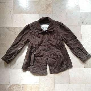 Abercrombie and Fitch brown jacket