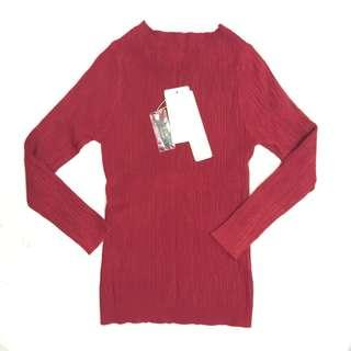 Red Knitted Top #CNYRED