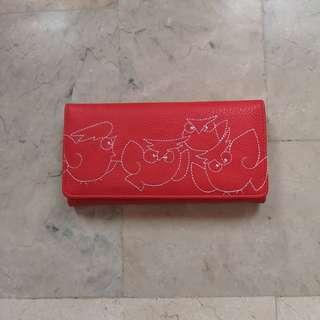 Bench red wallet