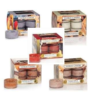 NEW Yankee Candle Tealights