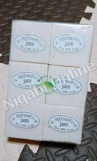 JAM Thai Rice Milk Soap (Gluta + Collagen)