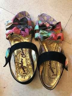 Irregular choice sandals Sz39
