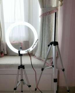 RING LIGHT MAKEUP COMPLETE BISA LANGSUNG AMBIL