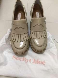 Authentic Chloe SeeBy platform shoes