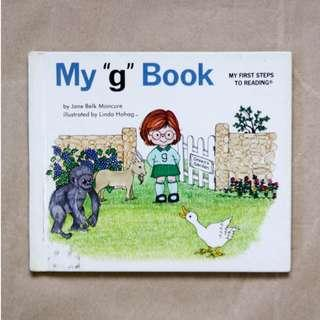 "My ""g"" Book 