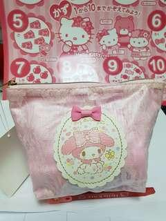My Melody Laced Pattern Pouch