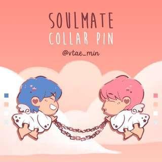 [SG GO] BTS VMIN Enamel Pin by vtae_min