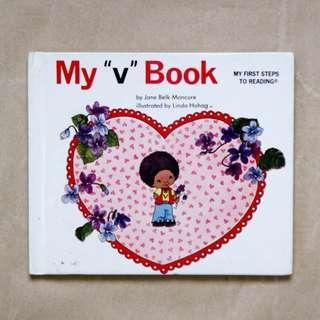 "My ""v"" Book 