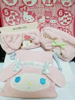 My Melody Bath Set