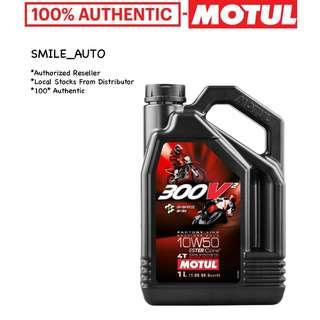 Motul 300V² Factory Line Road Racing 10W50 Engine Oil (Please Chat For Promo)