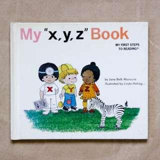 "My ""x, y, z"" Book 