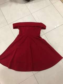 Red little dress