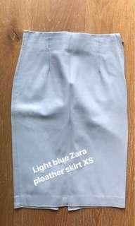 ZARA faux leather skirt XS