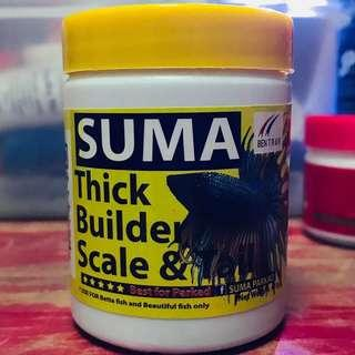 Suma - Thai Betta food for thick scaling and nice fins 45G fighting fish