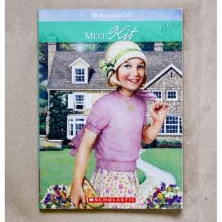 Meet Kit: An American Girl 1934 (The American Girls Collection, Book 1) by Valerie Tripp