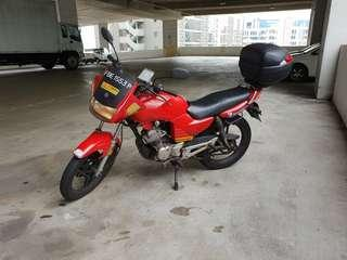 Rent YBR Yamaha Cheapest in town