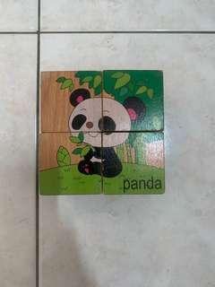 Animals wood/educational toy
