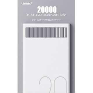 🚚 Authentic REMAX 20000mAh Power Bank,