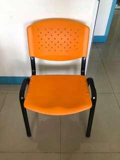 Sturdy office chair - orange 45 available