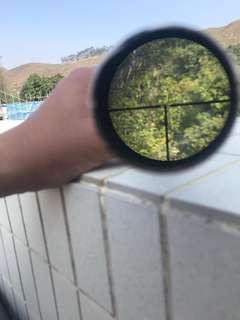 二戰德軍狙擊鏡4倍蔡司製造