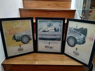 Back to the future trilogy frame