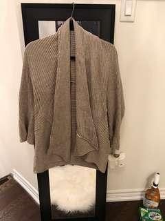 Zara oversized cardigan - size medium