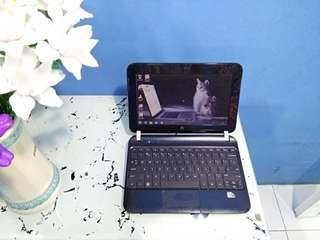 notebook netbook hp mini 110 intel atom hdd 160gb simple ringan