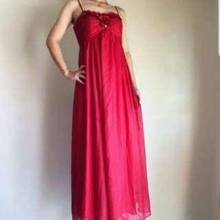 🆕Marry Merry Red Evening Gown/Bridal Gown/Dinner Dress #CNY888 #CNYRED