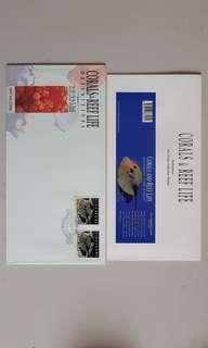 Corals & Reef Life First Day Cover