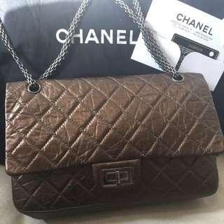 Chanel Classic reissue bronze  size 227 double flap
