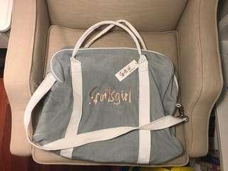 MUST GO Sportsgirl Chambray Duggle Bag