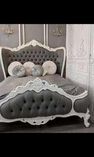 Like New Luxury French Victoria Bed
