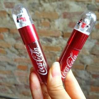 🆕️ The Face Shop x Coca Cola Polar Bear Lip Tint #CNY888 #CNYRED