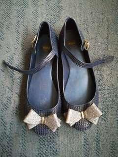 Melissa Blue Doll Shoes