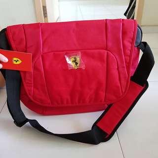 Authentic Ferrari laptop bag