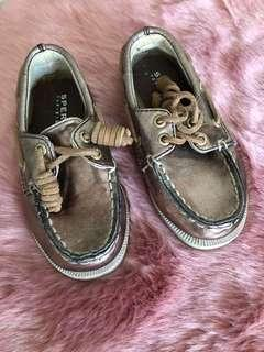 Authentic Sperry topsider for babies