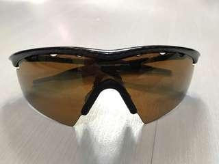 Oakley M-Frame Carbon Fibre with Brown Lens