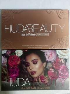 HUDA BEAUTY Rose Gold Remastered Palette (Authentic and BNIP)