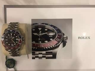 Rolex GMT MASTER2 126710 BLRO PEPSI