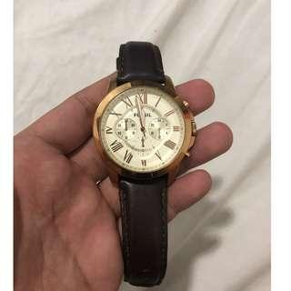 Fossil watch negotiable