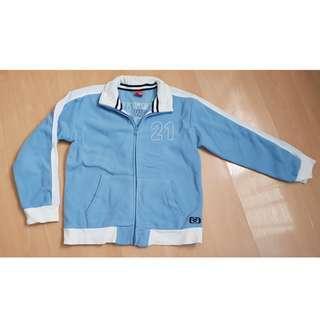 Per loved Children Boy Blue Jacket Sweater