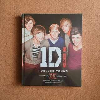 1D ONE DIRECTION: FOREVER YOUNG BOOK (Collector's Item)