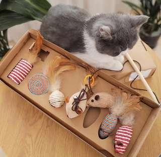 CNY New Year Festive Gift Toys Set for Cats Kittens!